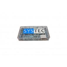SYSTEC ASS.DOOS 18-VAKS PLAATSCHROEF VZ DIN7981