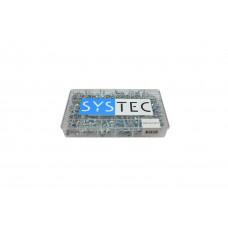 SYSTEC ASS.DOOS 18-VAKS PLAATSCHROEF VZ DIN7983