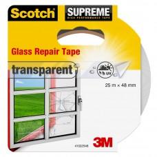 GLAS REPARATIE TAPE 48MM X 25M TRANSPARANT
