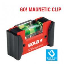 COMPACTE WATERPAS GO! MAGNETIC CLIP MAGNETISCH, MET RIEMCLIP,